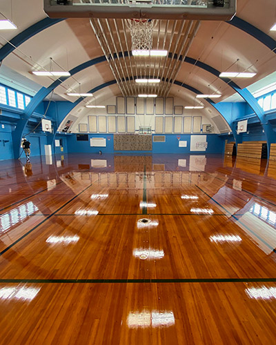 Sports Floor, Edwards Elementary, Oregon