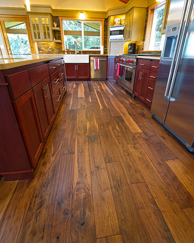 Hardwood Floor Project, Oregon